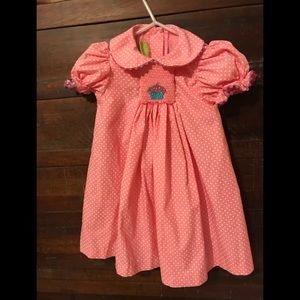 Other - Smocked cupcake dress